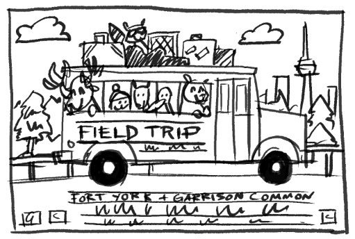 FIELD TRIP ft. Broken Social Scene, Feist & Bloc Party - image 13 - student project