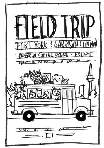 FIELD TRIP ft. Broken Social Scene, Feist & Bloc Party - image 14 - student project