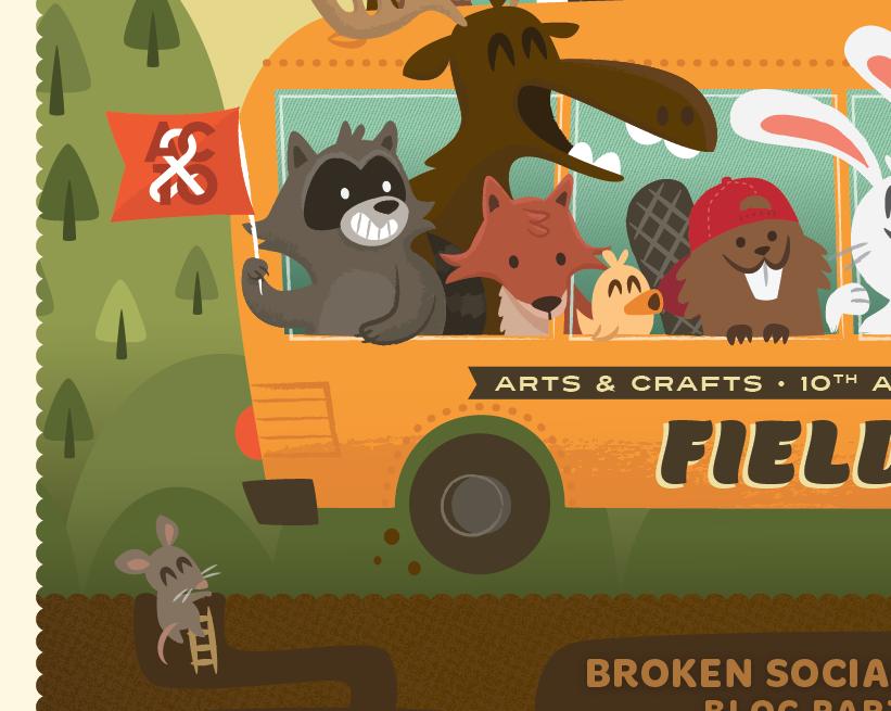 FIELD TRIP ft. Broken Social Scene, Feist & Bloc Party - image 6 - student project