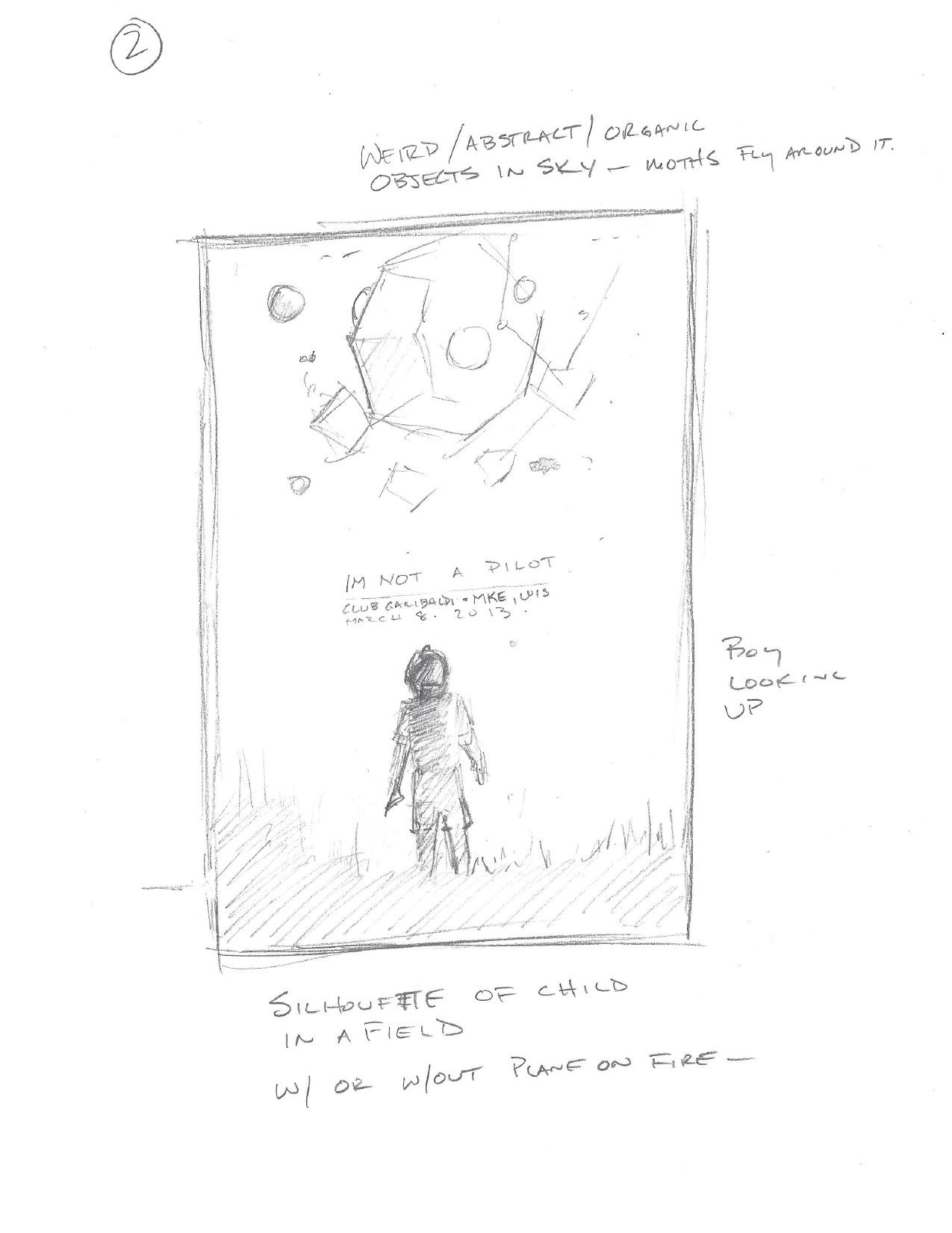 I'm Not a Pilot - Commemorative Show Poster - image 18 - student project