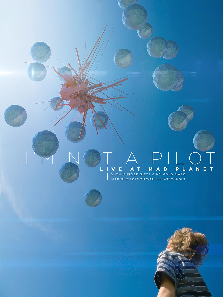I'm Not a Pilot - Commemorative Show Poster - image 3 - student project