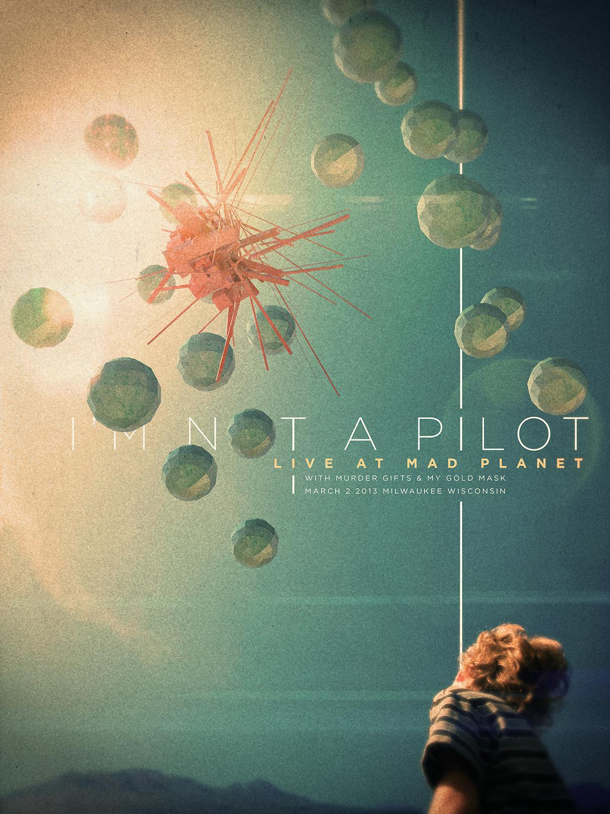 I'm Not a Pilot - Commemorative Show Poster - image 1 - student project