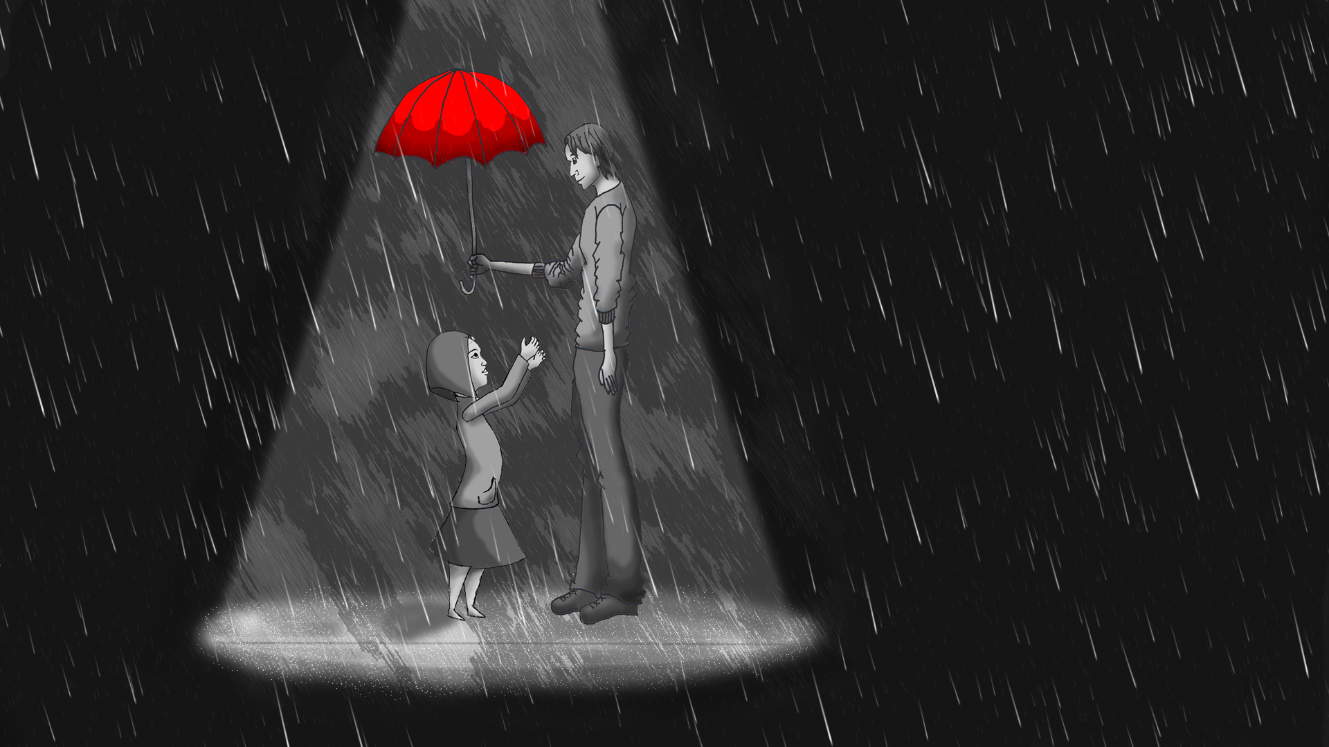 In the Rain - image 4 - student project