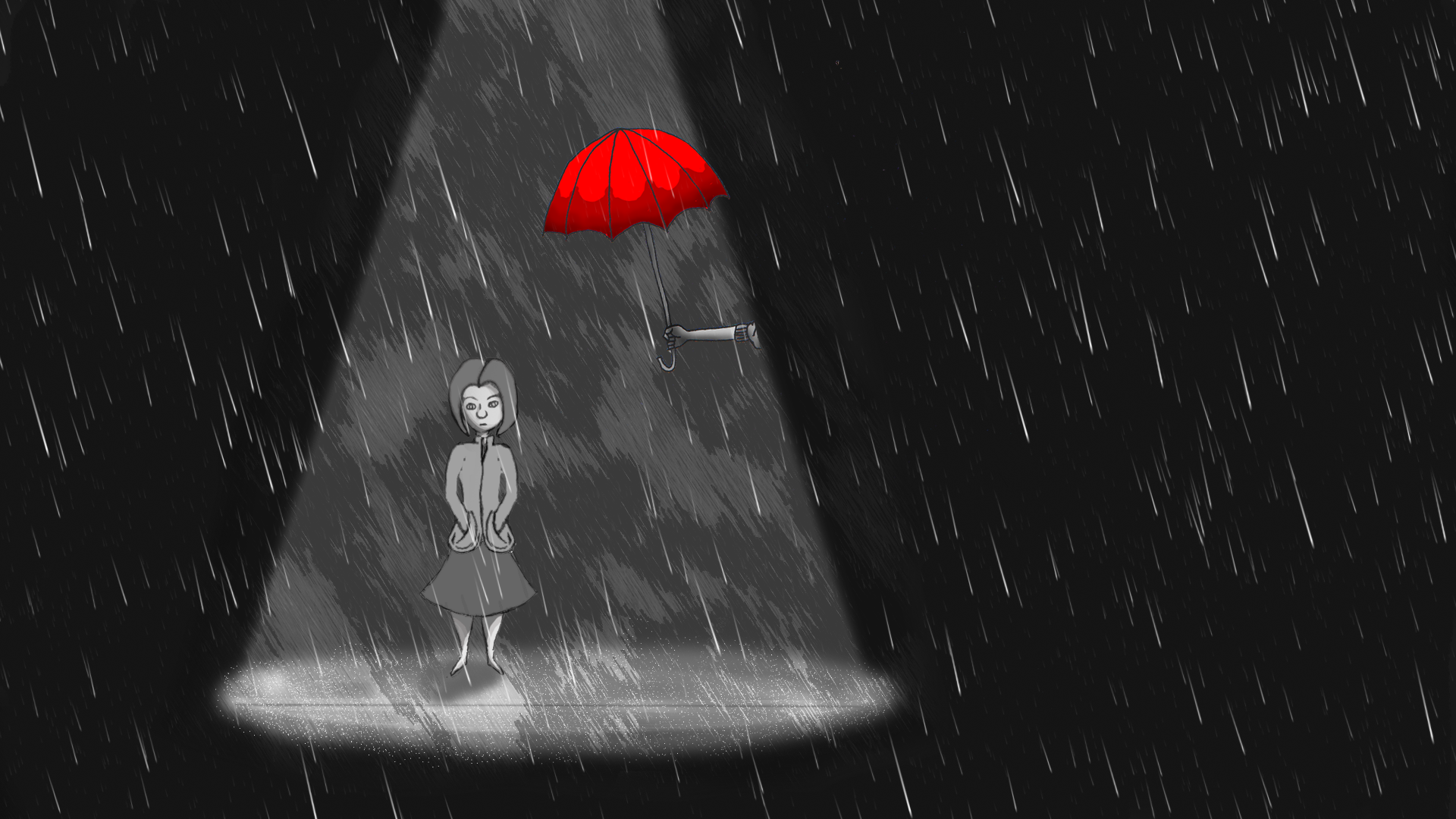 In the Rain - image 3 - student project