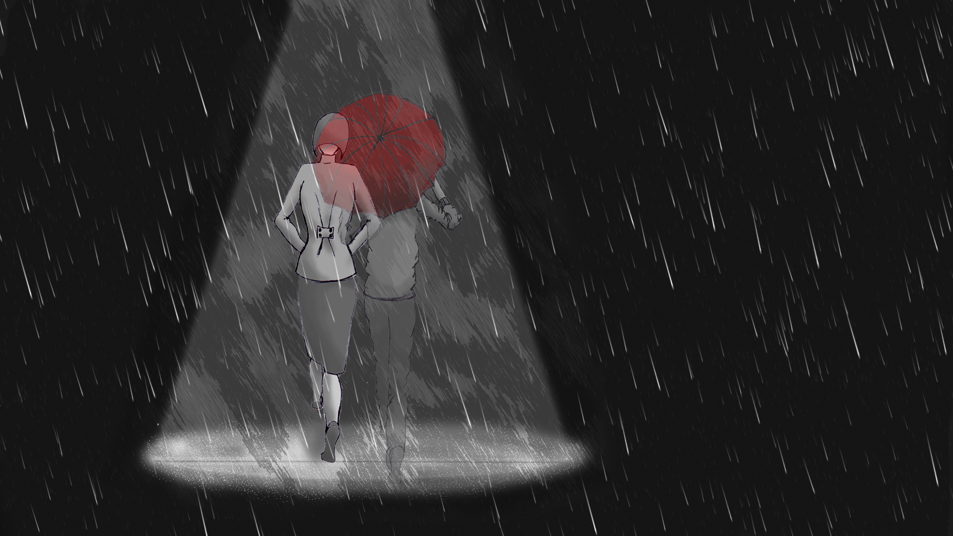 In the Rain - image 11 - student project