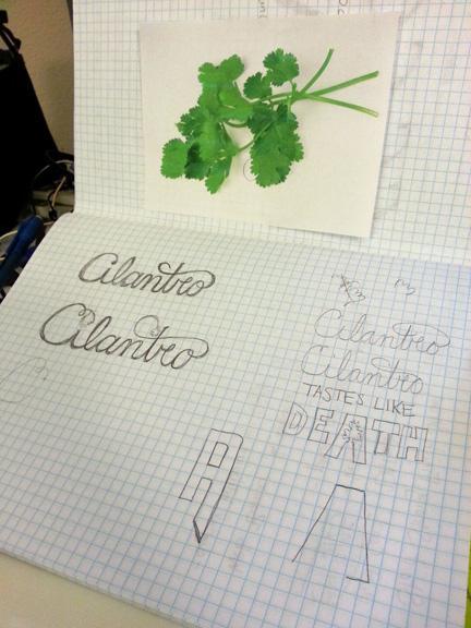 Cilantro Tastes Like Death - image 1 - student project