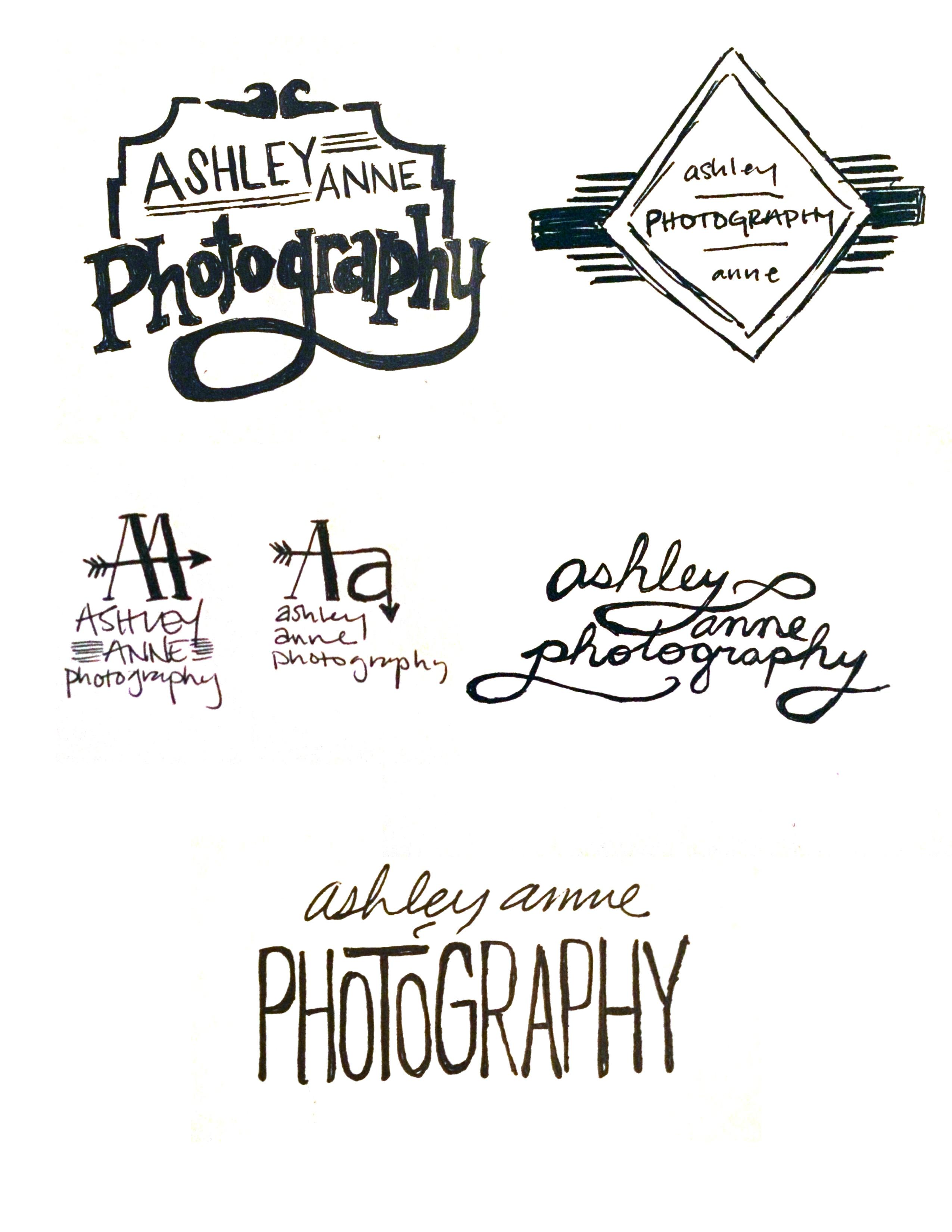 Photography company brandscheming - image 2 - student project