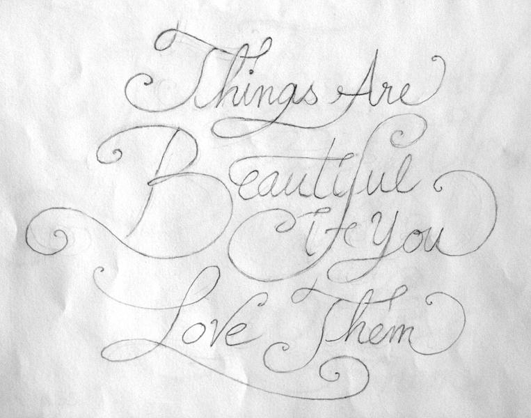 Things are Beautiful if you Love them - image 1 - student project