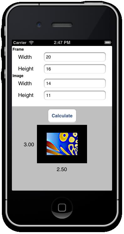Mat Border Calculator - Making Framing Easy - image 6 - student project