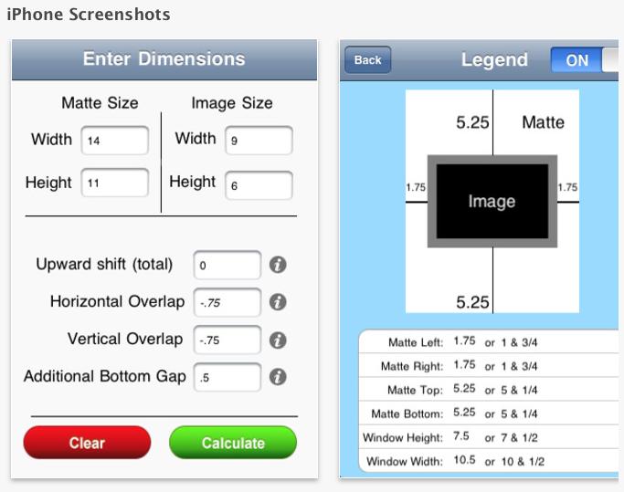 Mat Border Calculator - Making Framing Easy - image 8 - student project