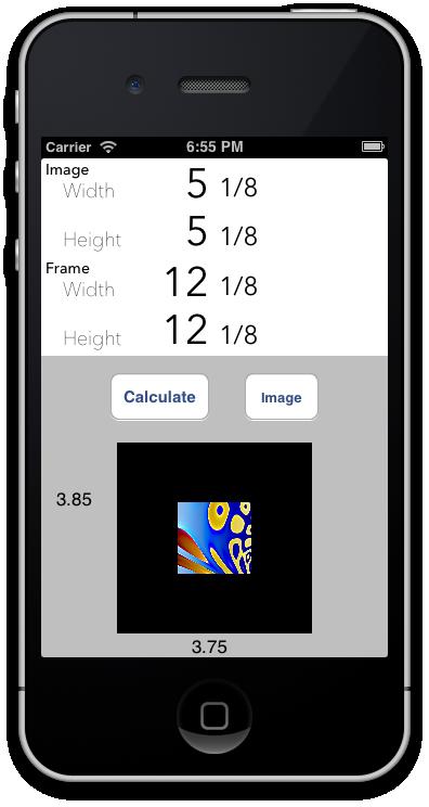 Mat Border Calculator - Making Framing Easy - image 4 - student project