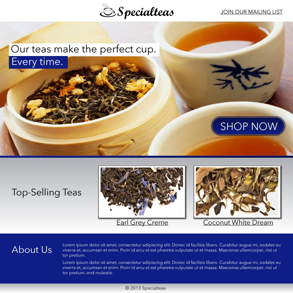 Specialteas - image 1 - student project