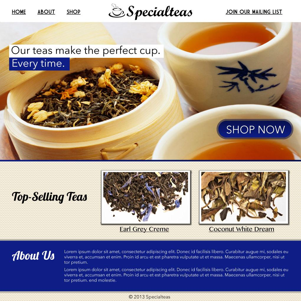 Specialteas - image 3 - student project