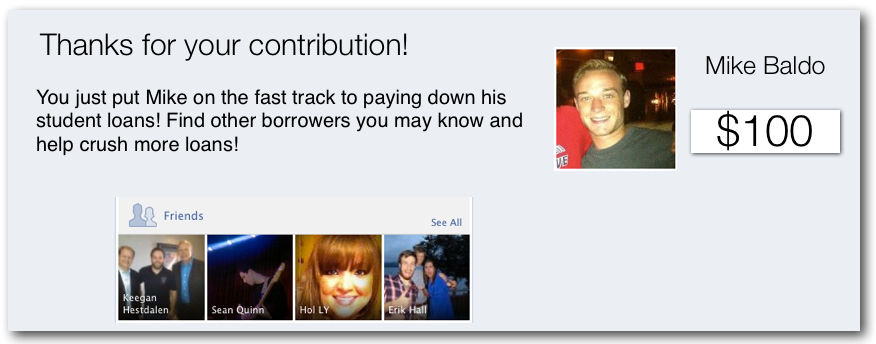 OwnMyLoans- Cooperative, rewarding, student loan repayment - image 4 - student project