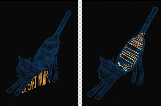 Le Chat Noir Wine - image 3 - student project