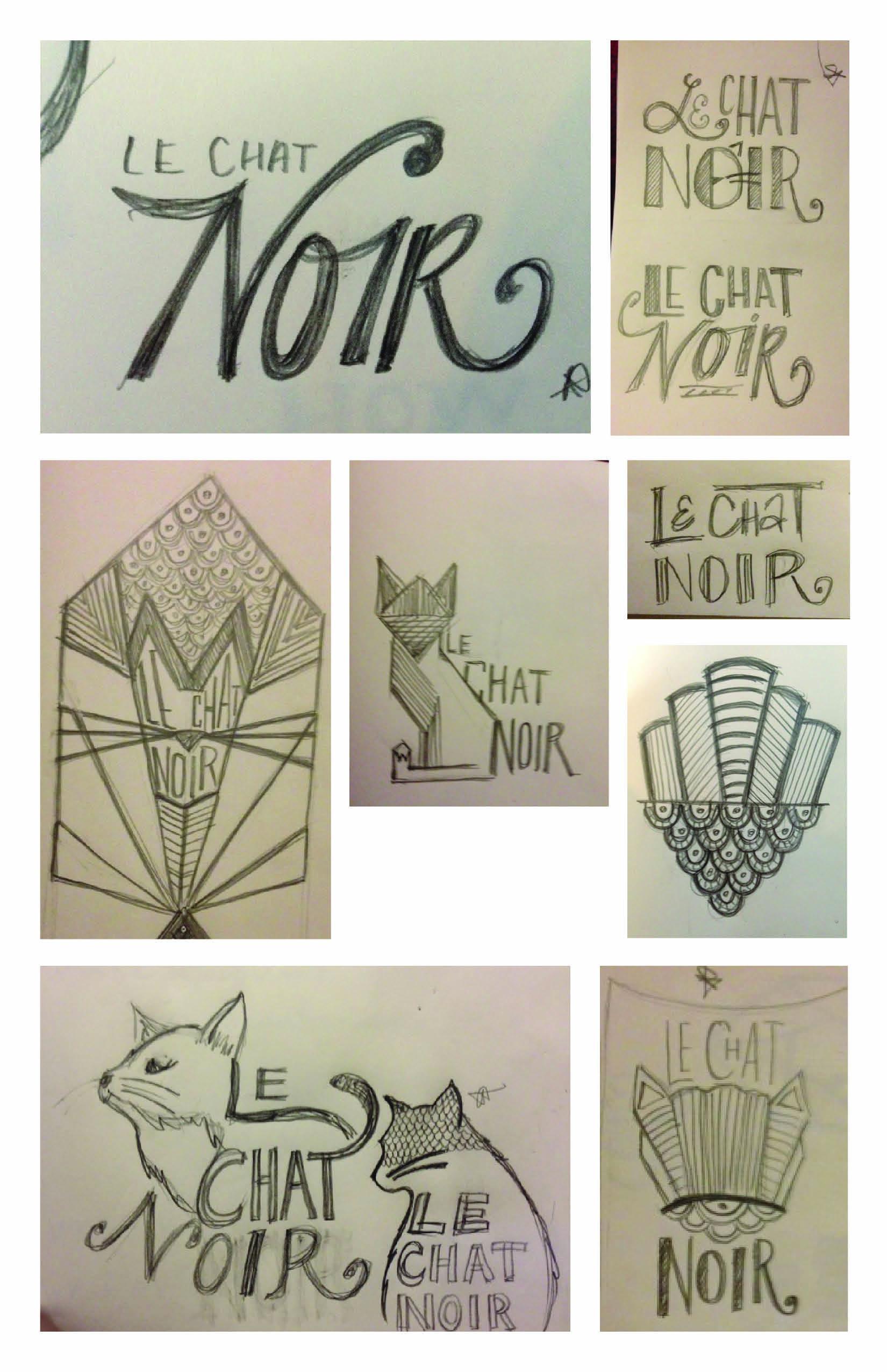 Le Chat Noir Wine - image 7 - student project