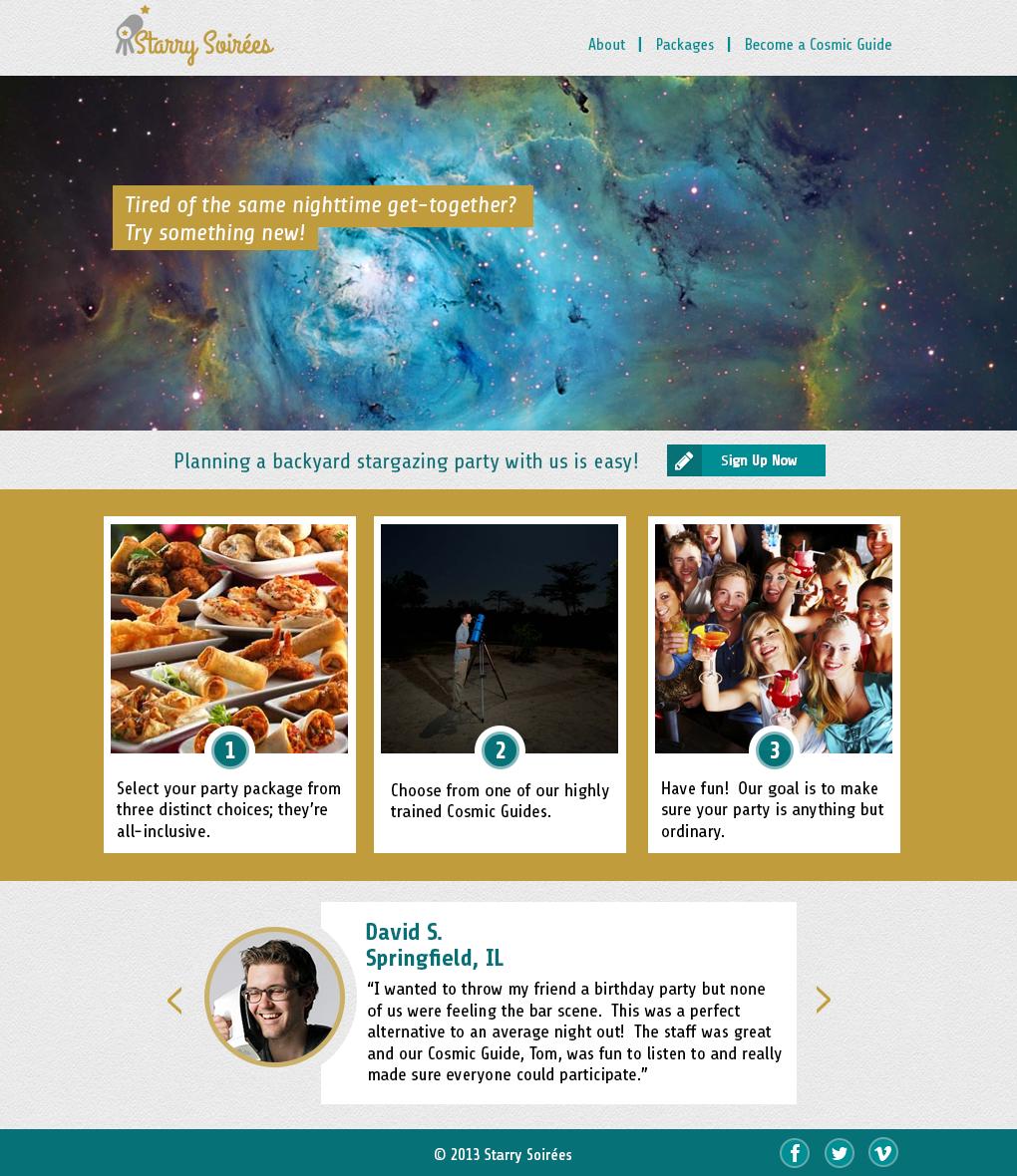 Starry Soireés - image 3 - student project