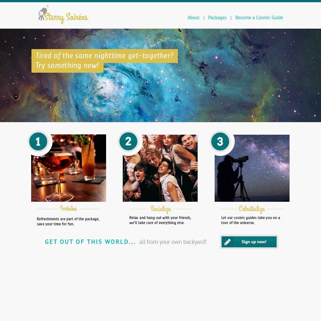 Starry Soireés - image 2 - student project