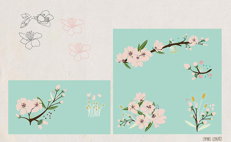 Almond Blossom - image 3 - student project
