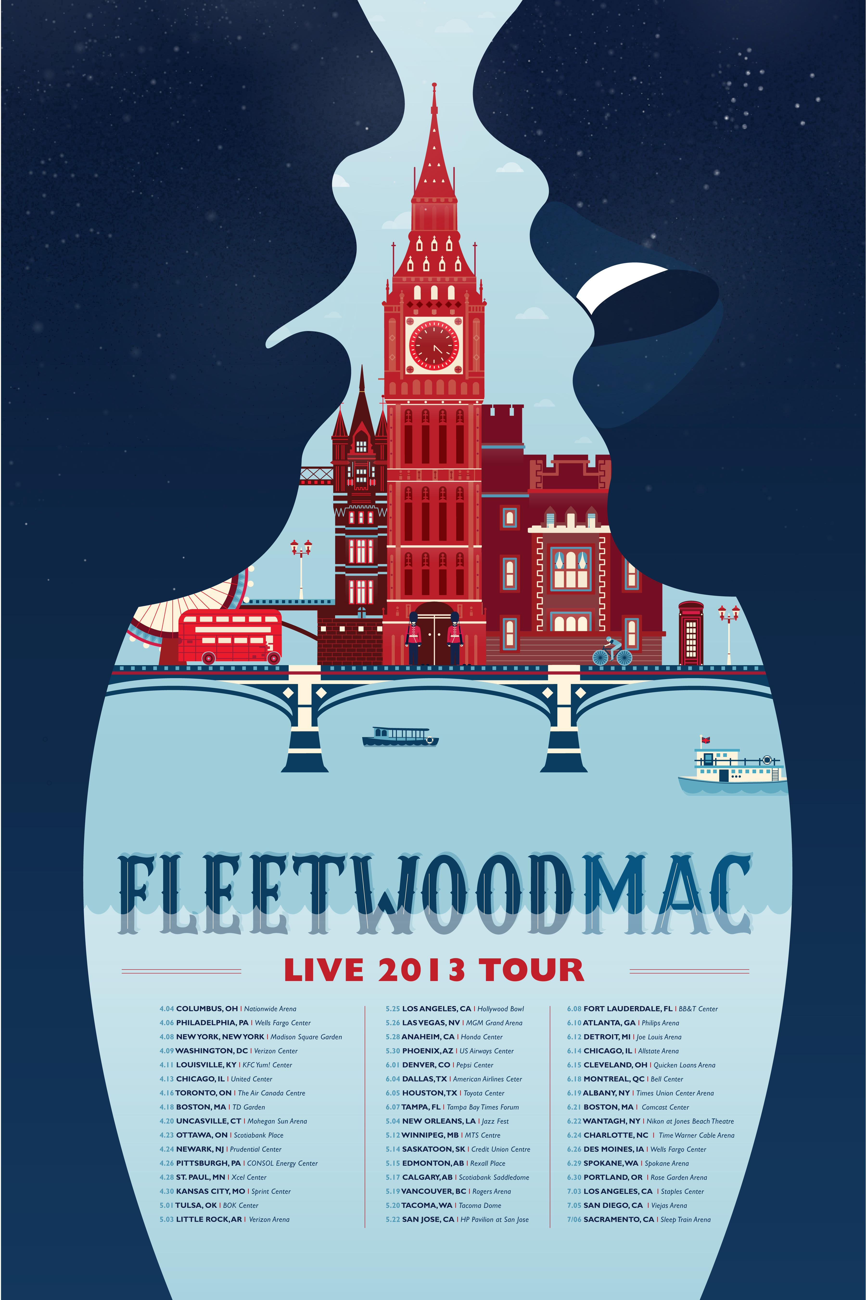 Fleetwood Mac - image 1 - student project