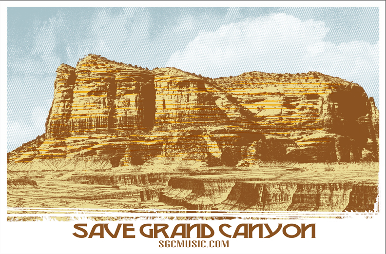 Save Grand Canyon Gigposter - image 2 - student project