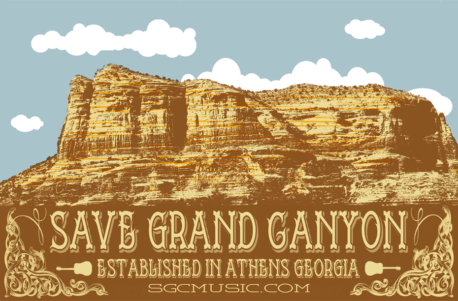 Save Grand Canyon Gigposter - image 4 - student project