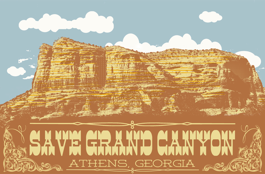 Save Grand Canyon Gigposter - image 3 - student project