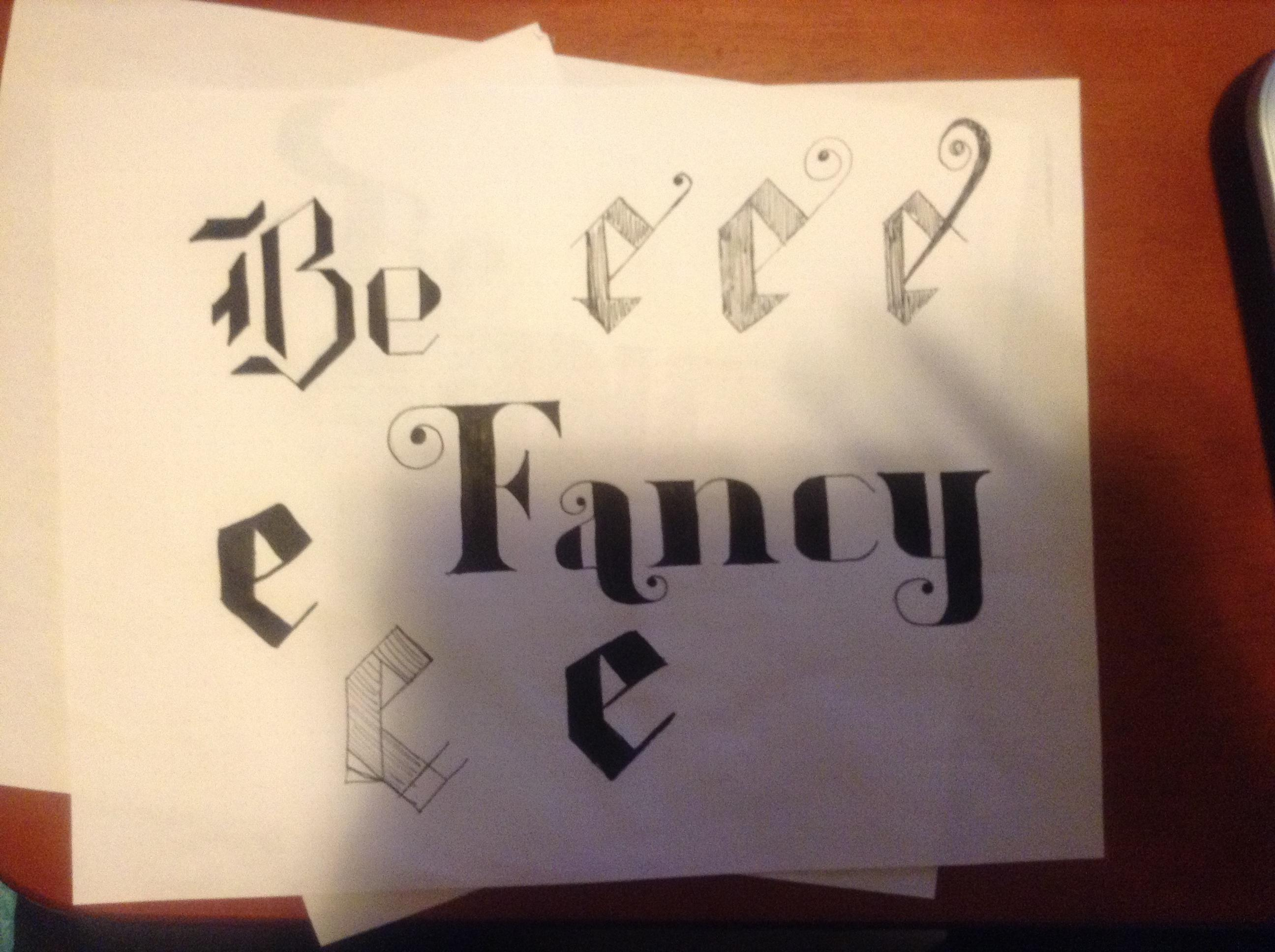 Be Fancy - image 3 - student project