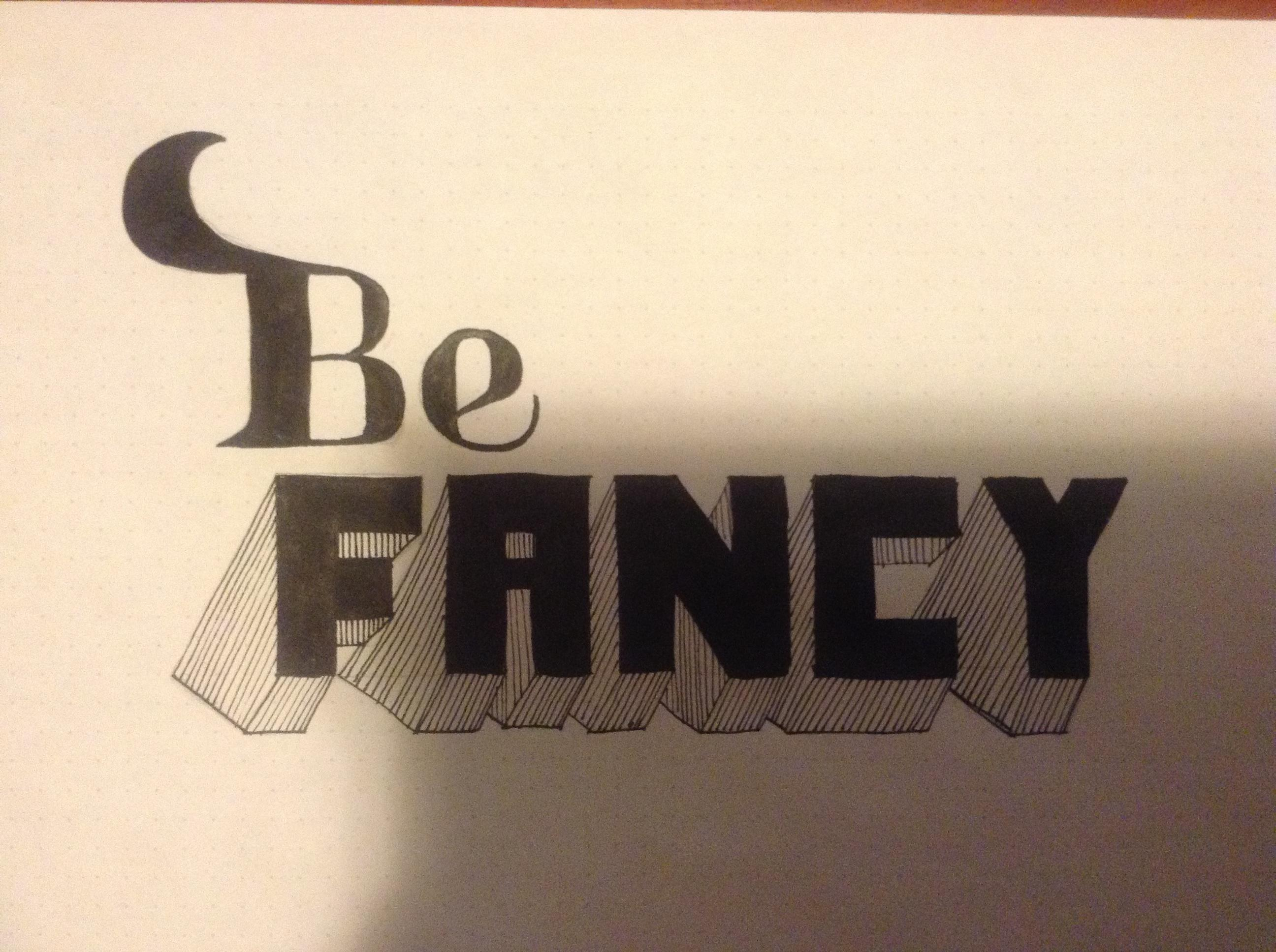 Be Fancy - image 2 - student project