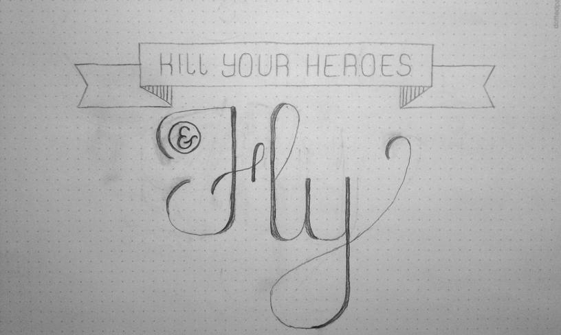 Kill your heroes and fly - image 1 - student project