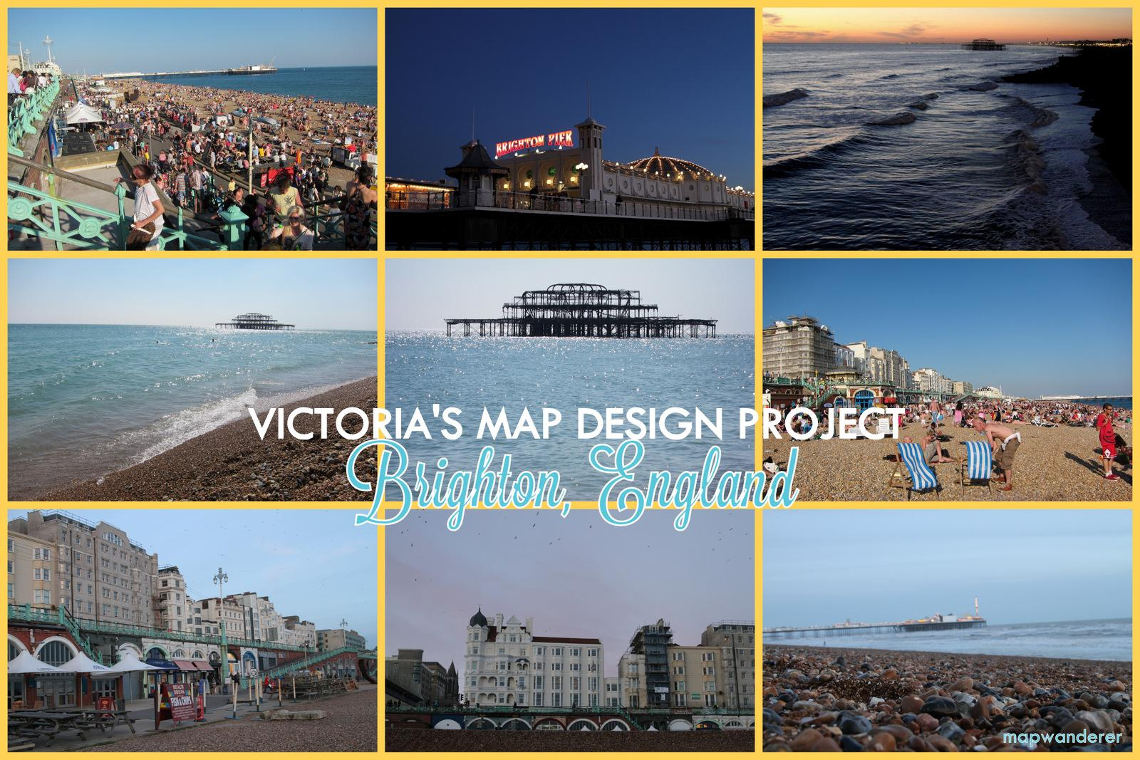 Walks through the seaside town of Brighton, England! - image 1 - student project