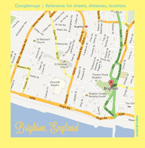 Walks through the seaside town of Brighton, England! - image 2 - student project