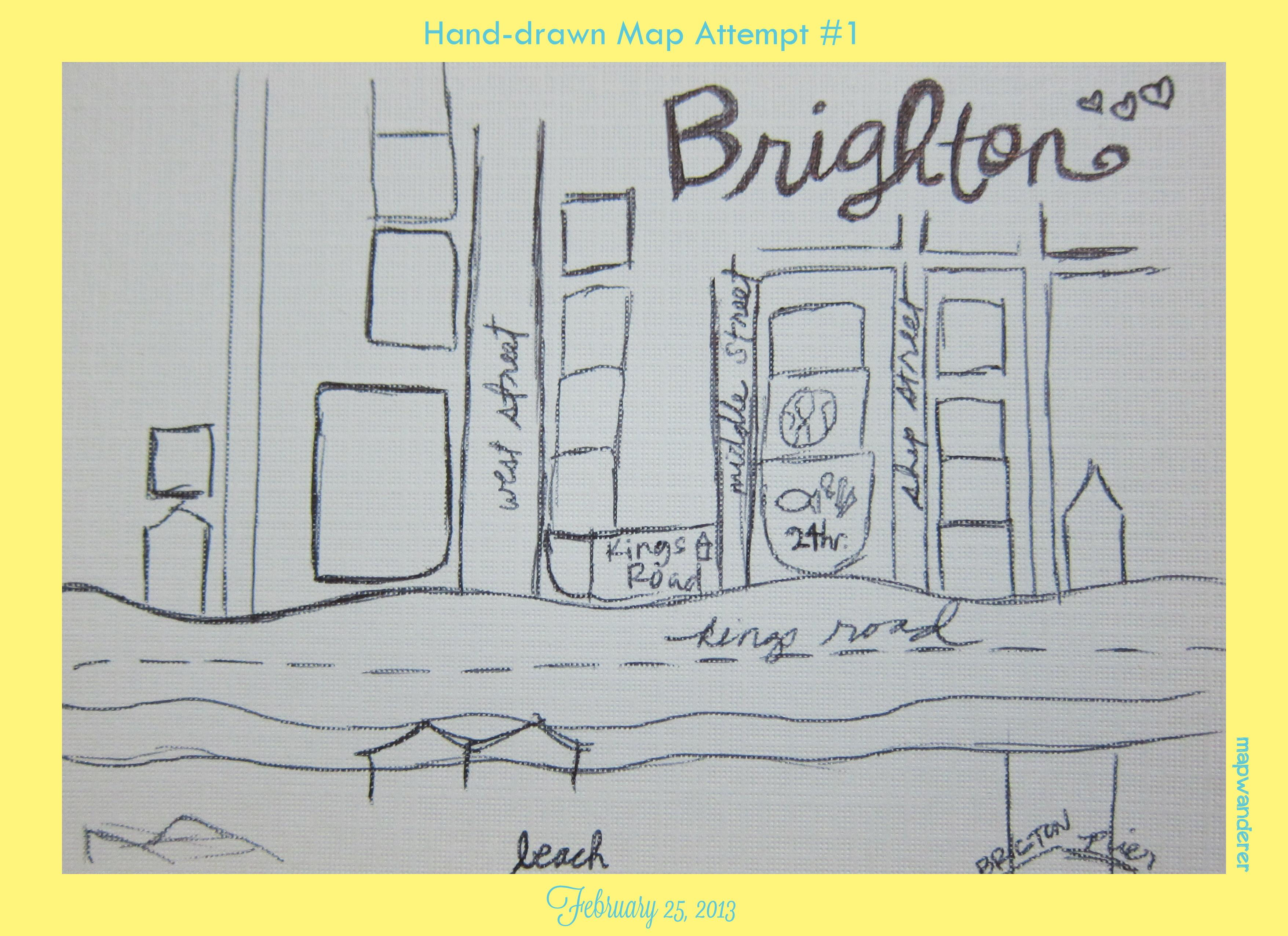 Walks through the seaside town of Brighton, England! - image 3 - student project