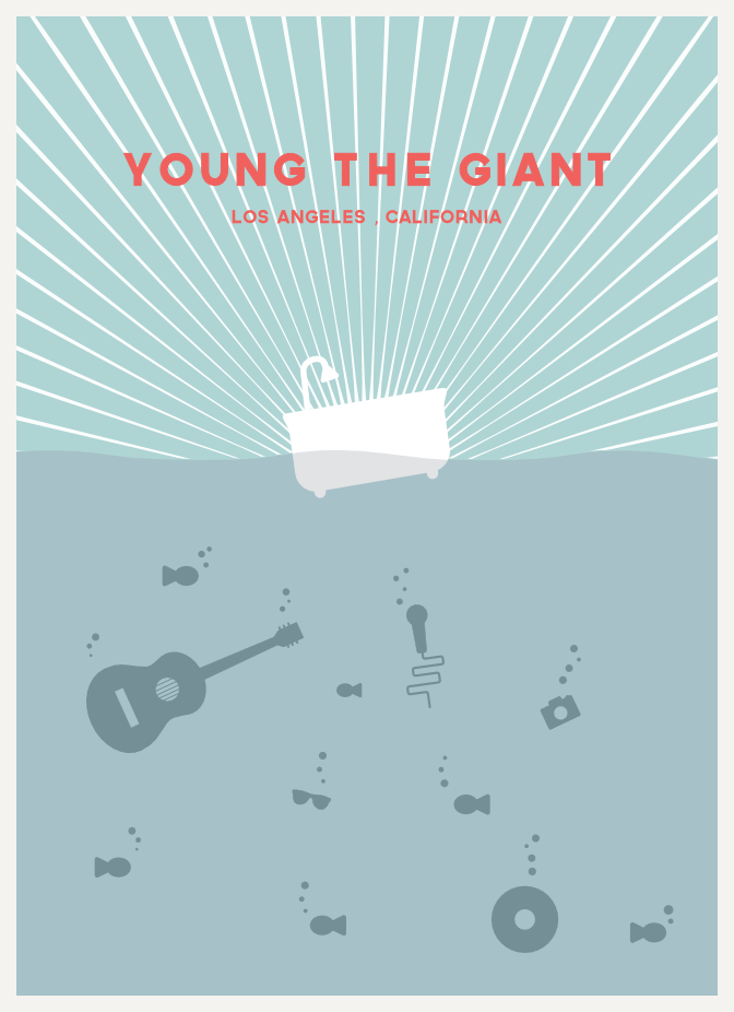 Young The Giant  - image 4 - student project