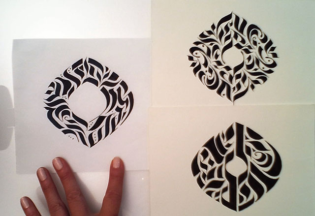 Project Sample: Calligraphy Stroke Tattoo - image 12 - student project