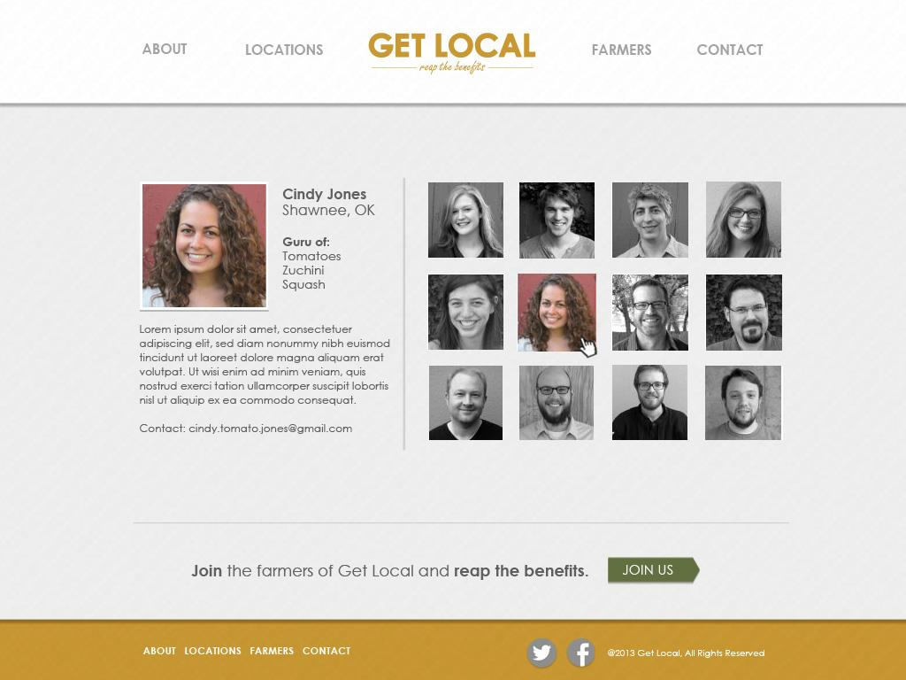 Get Local - image 4 - student project