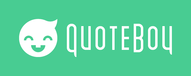 QuoteBoy Web Design Style Guide - image 1 - student project