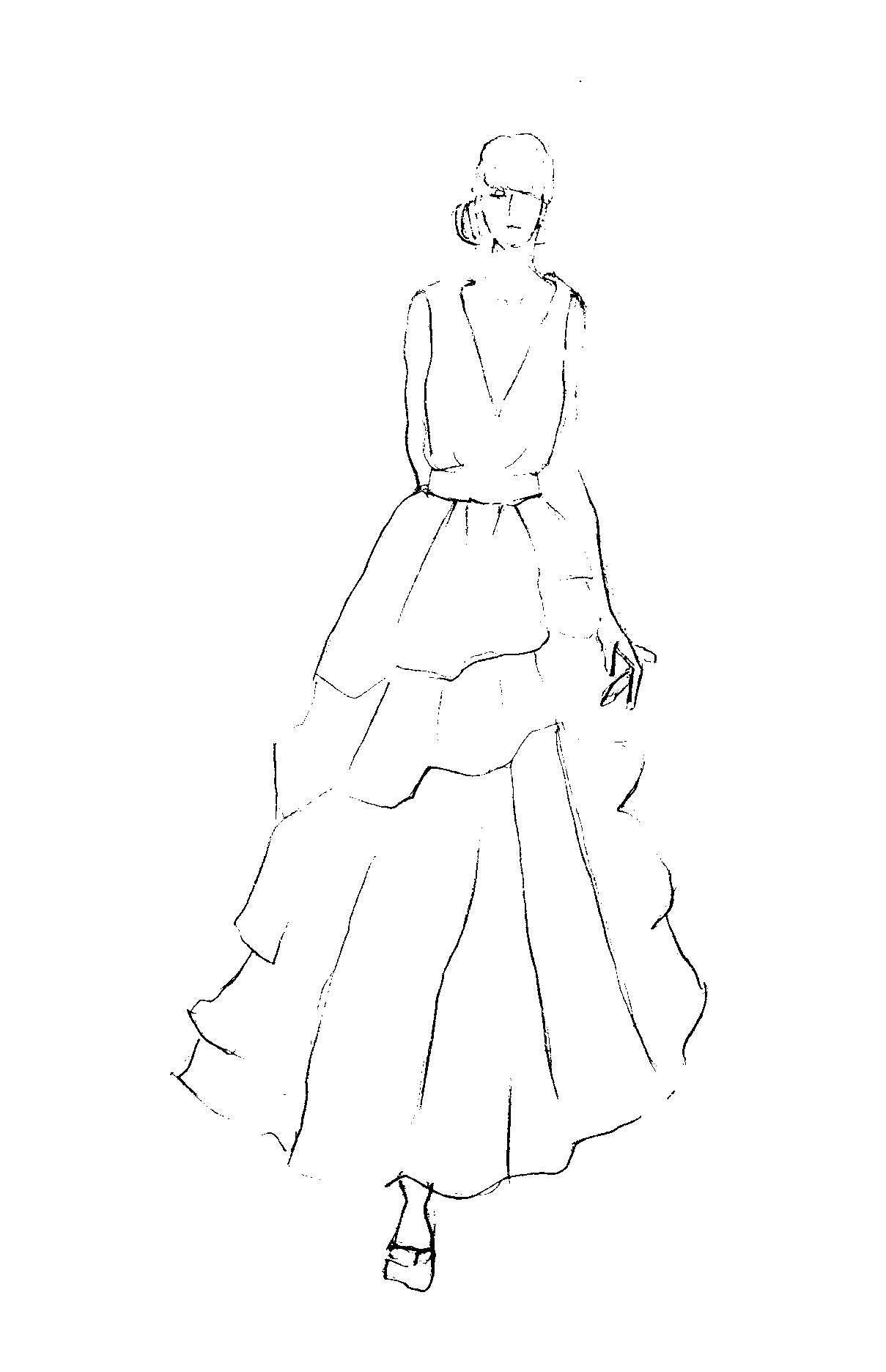 Sketches and Inspirations:  Back in Black - image 10 - student project