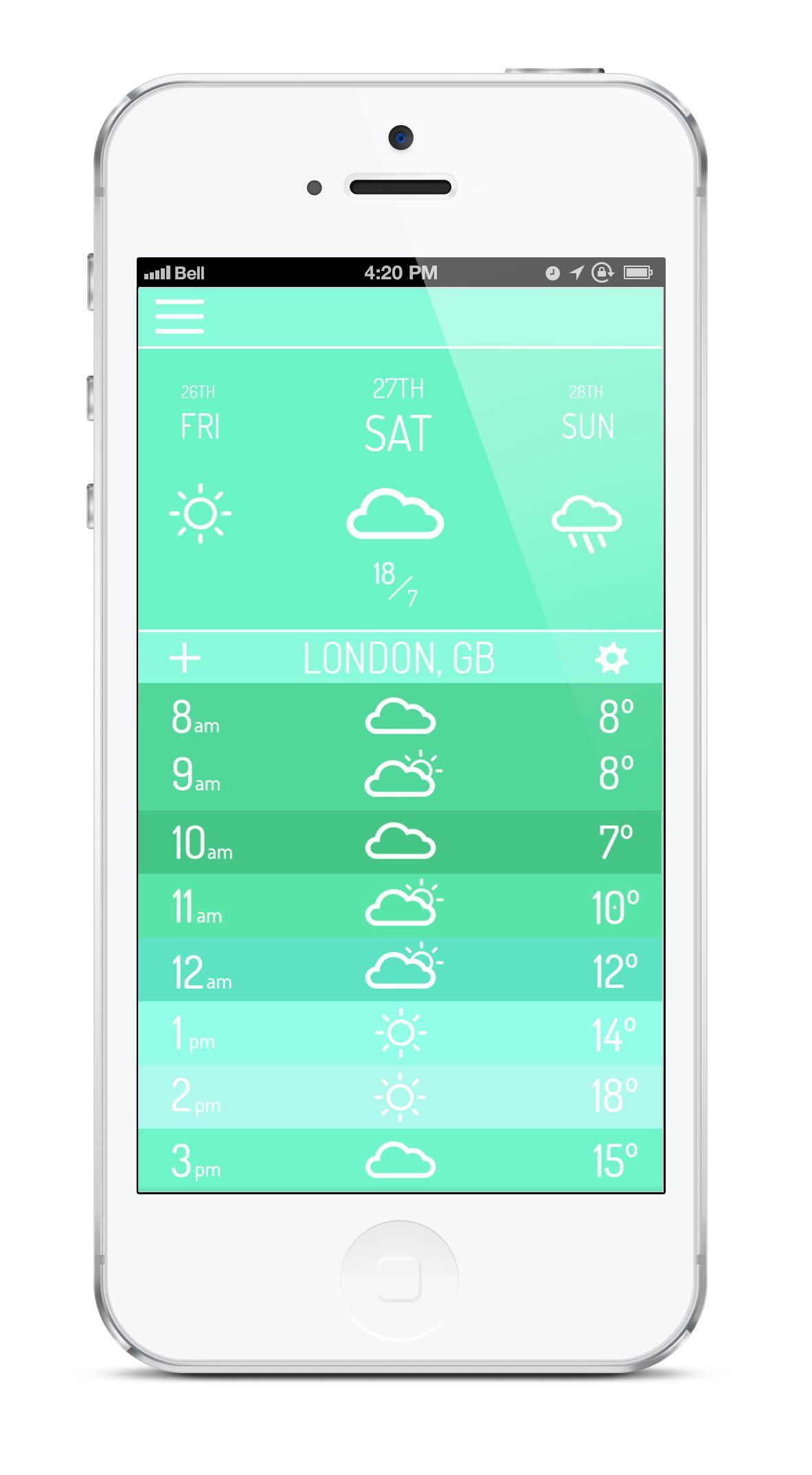 Tempº App - image 4 - student project