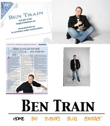 Ben Train Magician Logo - image 1 - student project