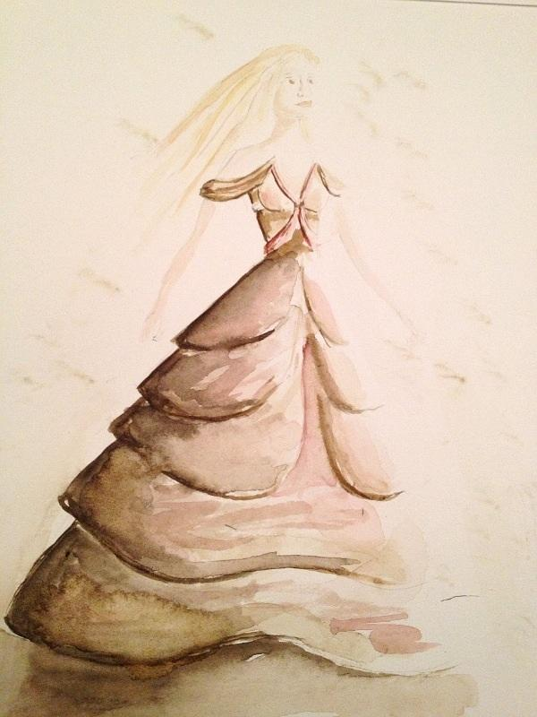 Final Embelishments: Fabulous Flowing Fashions - image 9 - student project