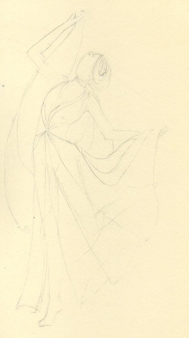 Final Embelishments: Fabulous Flowing Fashions - image 19 - student project