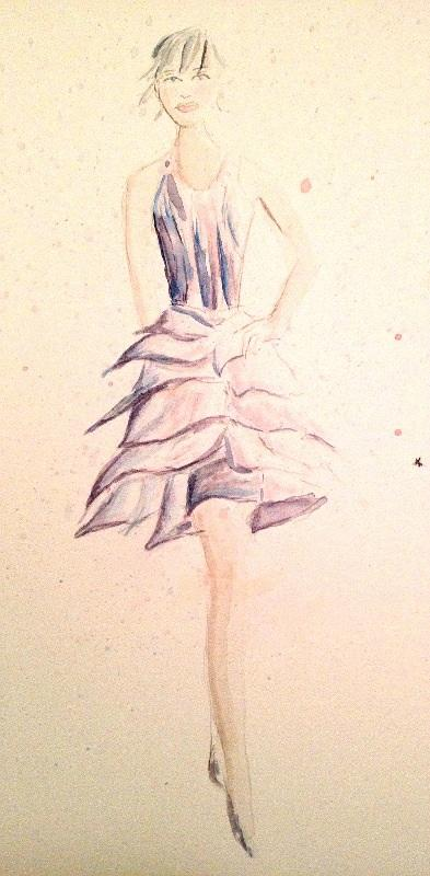 Final Embelishments: Fabulous Flowing Fashions - image 11 - student project