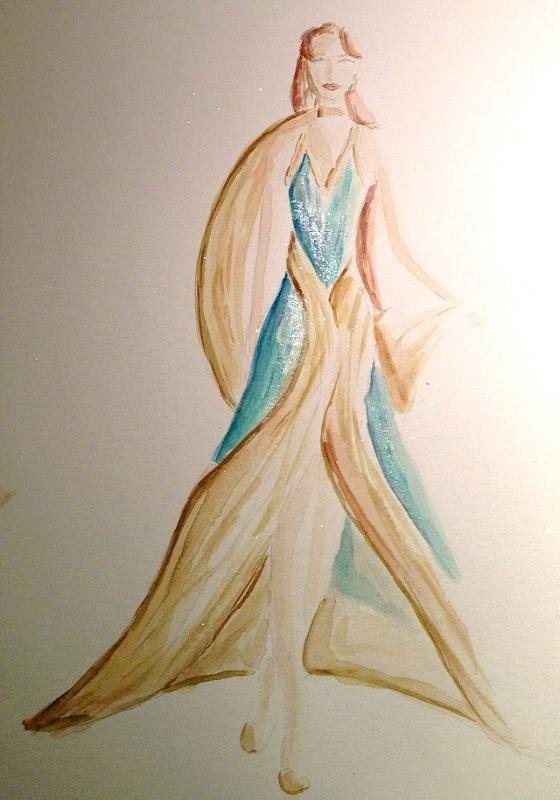 Final Embelishments: Fabulous Flowing Fashions - image 1 - student project