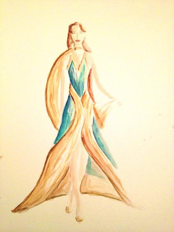 Final Embelishments: Fabulous Flowing Fashions - image 10 - student project