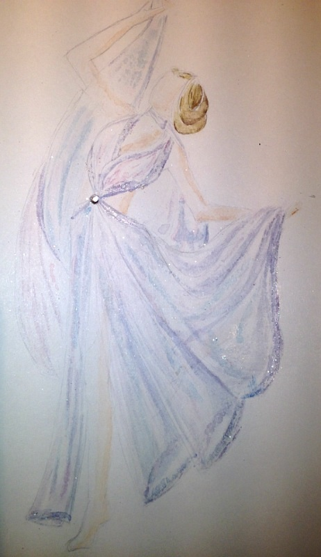 Final Embelishments: Fabulous Flowing Fashions - image 7 - student project