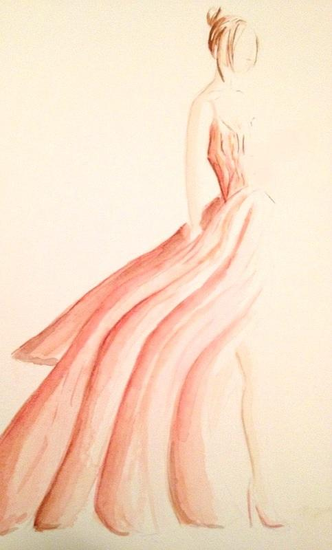Final Embelishments: Fabulous Flowing Fashions - image 12 - student project