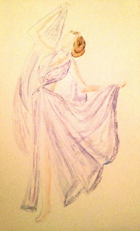 Final Embelishments: Fabulous Flowing Fashions - image 13 - student project
