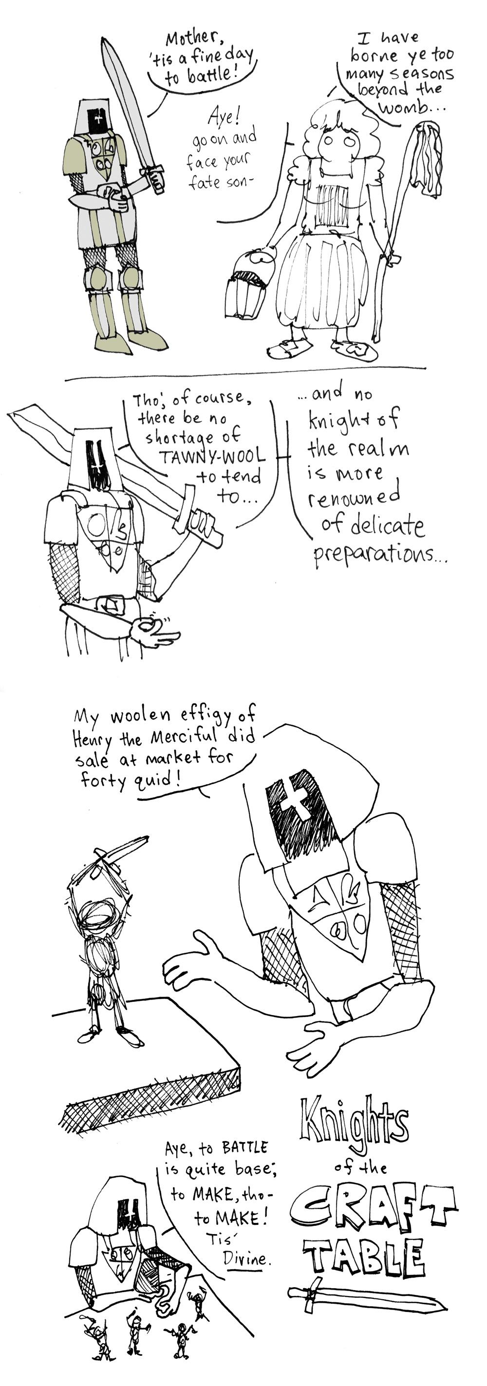 Quick improv comic - image 5 - student project