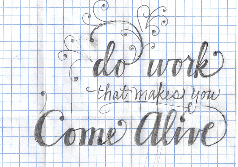 Work that makes you come alive - image 2 - student project